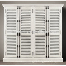 Best quality plantation shutter wardrobe door design interior decorative plantation shutters from china