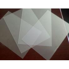 Impressão de folha de PVC fosco, folha de PVC transparente