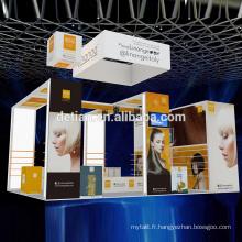 Detian offre 6x9 pour 6x6 stand d'exposition modulaire rétroéclairé d'exposition d'exposition