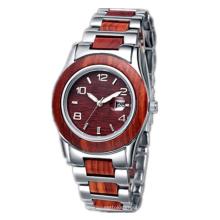 2016 novo estilo relógio de quartzo, moda madeira relógio hl-bg-164