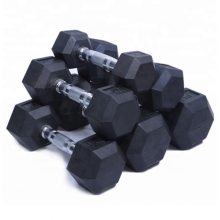 gym rubber hex dumbbells weights body building dumbbells best dumbells