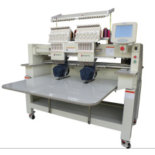 12 Colors 2 Heads Computer Embroidery Machine for Sale