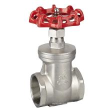 Válvula de porta de aço inoxidável Ss304 / 316