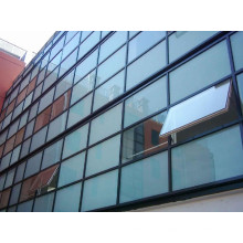 Tempered Laminated Glass Curtain Wall for Structure Office Building