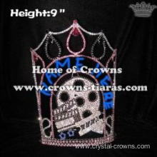 Wholesale Custom Rhinestone Hollywood Star Pageant Crowns