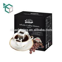 Dekorativer Behälter-Papierkasten der biologisch abbaubaren Verpackung für Kaffee