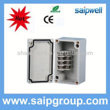 vente chaude 24 boîte à bornes optique de fibre de noyaux, boîte de jonction imperméable 4p d'ABS