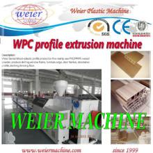 Linha de produção plástica de madeira do perfil do PE dos PP (WPC) de 15 anos de fábrica