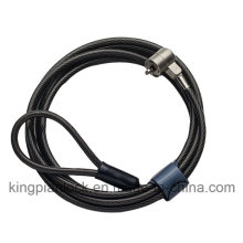 Laptop and PC Computer Safe Cable Key Lock with Master Key