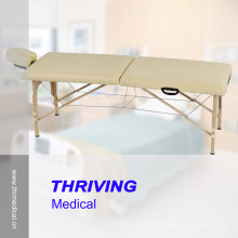 Table de massage en bois pliante portable (THR-WT001)