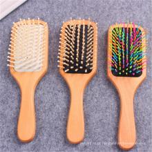FQ marca personalizado escova de cabelo profissional barato private label escova de cabelo de madeira