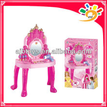 Fashion Design Lighting Piano Toys Girls Makeup Set Beauty Play Set Toys