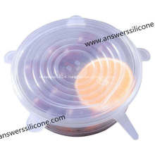 Custom-Made Cup Bottle Silicon Rubber Fruit Lids