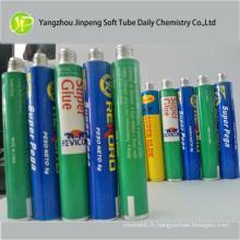 Tube pliable en aluminium pour la Super colle