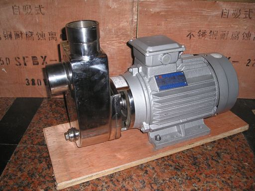 SFBX stainless steel corrosion-resistant self-priming pump 1