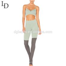 Nuevo diseño de pantalones largos de yoga ropa de mujer sexy apretados trajes de yoga