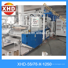 China Stretch Film Machine in Plastindia/ Plastic Film Machine