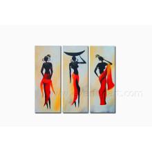 Mulher, figura, óleo, quadro