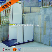 5.5 m 250 kg the disabled home vertical wheelchair lift platform price with CE