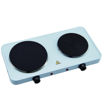 Kitchen Countertop เหล็กหล่อ Double Burner