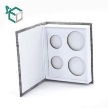 Приватное тавро Логоса нестандартной конструкции печатание коробки подарка, упаковывать тени глаза