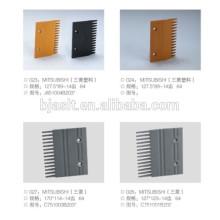 Escada rolante Alumínio Comb Placa / Escada rolante componentes / placas decorativas