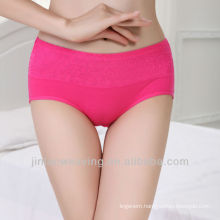 Low waist fashion thermal underwear solid color sexy women underwear pictures cotton panties arab girl sexy underwear