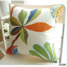 Almofada para sofá 100% algodão cor sólida Travesseiro de cama