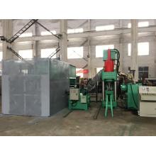 Automatische Brikettmaschine für Kupferscheibenchips zum Schmelzen