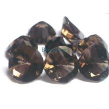 Драгоценный камень - дымчатый кварц для комплект ювелирных изделий (SMK003)