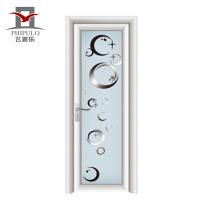 2018 puerta de baño de aluminio de un solo diseño de última hoja para Phipulo