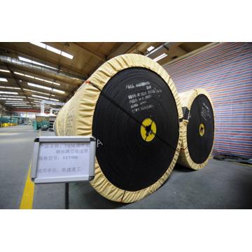 Correa transportadora de cable de acero ST2000