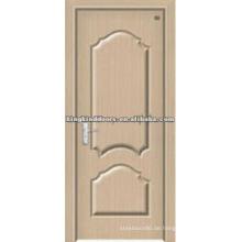 Besten Preis PVC Tür/Holz Tür mit PVC Laken bedeckt für Tür Innenarchitektur