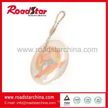 Wholesale key chain, reflective safety key chain