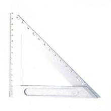 Réguas quadradas do triângulo do aço inoxidável