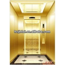 OTSE Titanium stainless steel mirror surface etching passenger elevator