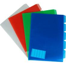 Arquivo de relatório de índice colorido