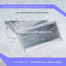 fabricação PM2.5 / N95 máscara material ativado máscara de filtro de carbono