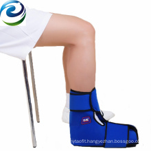 Available Sample Nylon Material Athletes Use Cooling Down Ice Pack Gel Ankle Wrap