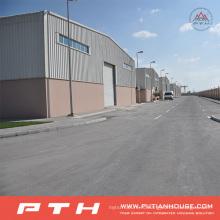 Проект в Бахрейне Пакгауза prefab стальной структуры