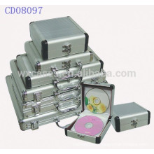 high quality 32 CD disks aluminum CD box wholesales from China manufacturer