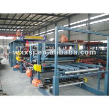 Mineral Wool/Rock Wool sandwich panel machine production line