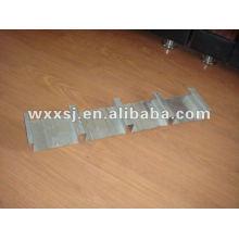 plancher en métal galvanisé platelage onglet feuille