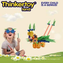 Building Blocks Plastic Intelectual Custom Shaped Toy