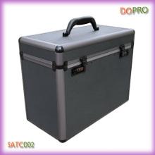 Boîte à outils personnalisée en coiffeur en aluminium pour salon de coiffure (SATC002)