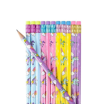 COLORFUL UNICORN PENCILS -0