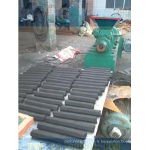 Machine de presse à briqueterie à charbon de bois à haute efficacité