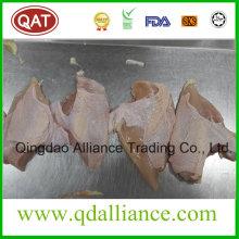 Gefrorene Halal Hähnchenbrustfleisch mit Haut auf