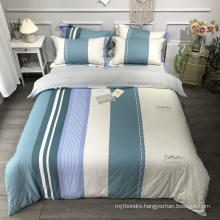 New Product Cheap Price Bedding Cotton Fabric Comfortable for 3PCS Full Bed Sheet