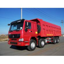 Howo 12 wheeler truck 50 ton dump truck